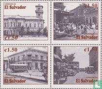 Old cityscapes San Salvador