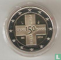 "Belgium 2 euro 2014 (PROOF) ""150th anniversary of the Red Cross"""