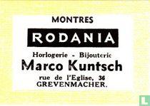 Montres Rodania - Marco Kuntsch