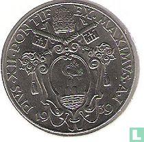 Vaticaan 1 lire 1939