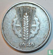 DDR 10 pfennig 1949