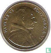 Vaticaan 20 lire 1968
