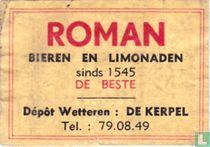 Roman - bieren en limonaden