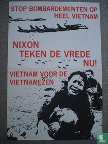 Stop bombardementen op heel Vietnam