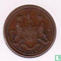 Penang ½ cent 1810