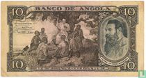 Angola 10 Angolares 1947
