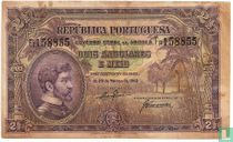Angola 2,5 Angolares 1942