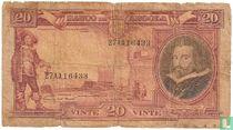 Angola 20 Angolares 1944