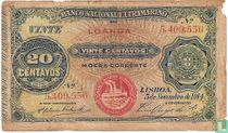 Angola 20 centavos 1914