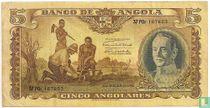 Angola 5 Angolares 1947
