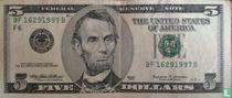 Verenigde Staten 5 dollars 1999 F