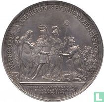 Great Britain (UK) George I Proclaimed King 1714