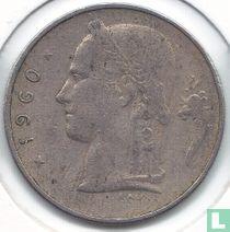 België 1 franc 1960 (NLD)