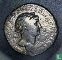 Romeinse rijk, AR Denarius, 98-117 AD, Trajanus, Rome, 107-111 AD
