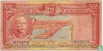 Angola 500 escudos 1956