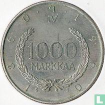 "Finland 1000 markkaa 1960 ""Centennial Markka currency system"""