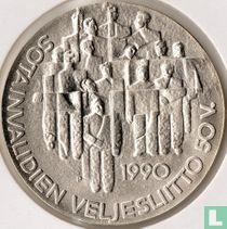 "Finland 100 markkaa 1990 ""50th anniversary Disabled Veterans Organization"""