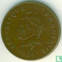 Frans-Polynesië 100 francs 1984