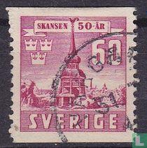 50e verjaardag van het openluchtmuseum van Skansen