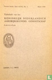 Tijdschrift van het Koninklijk Nederlandsch Aardrijkskundig Genootschap Amsterdam 2
