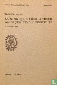 Tijdschrift van het Koninklijk Nederlandsch Aardrijkskundig Genootschap Amsterdam 1