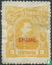 President Louis Bogran with print