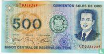 Peru 500 Soles de Oro