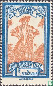 Frau aus Guyana