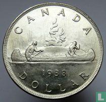 Canada 1 dollar 1938