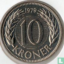 Danemark 10 kroner 1979