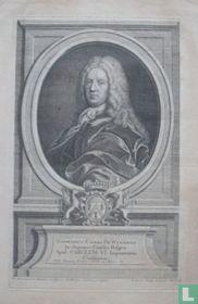 GOSWINUS COMES DE WYNANTS In Supremo Consilio Belgico Apud CAROLUM VI. Imperatorem Consiliarus.