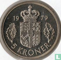 Denemarken 5 kroner 1979