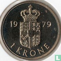 Denemarken 1 krone 1979