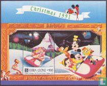Walt Disney Christmas Cards