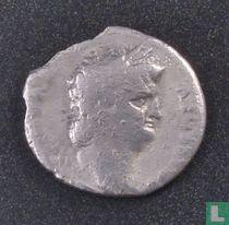 Romeinse Rijk, AR Denarius, 54-68 AD, Nero, Rome, 65 AD