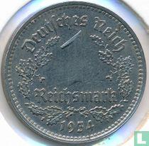 Duitse Rijk 1 reichsmark 1934 (A)