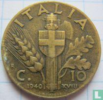 Italien 10 Centesimi 1940
