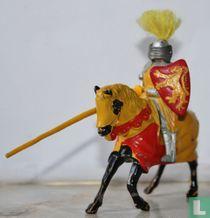 King Arthur mounted
