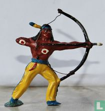 Standing Indian with bow