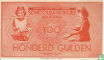 Schoolgeld 100 Gulden