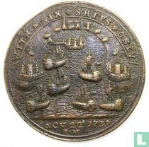 Great Britain (UK)  With Six Ships Only, Vernon Takes Porto Bello  1739