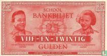 Schoolgeld 25 Gulden