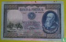 1000 Escudo 1942 Ch.7 - D. Afonso Henriques