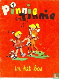 Pinnie en Tinnie in het bos