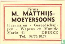 Firma M. Matthijs-Moeyersoons