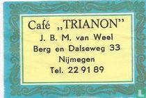 Café Trianon - JBM van Weel