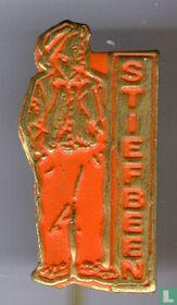 Stiefbeen (staand) [oranje]
