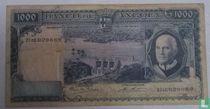 Angola 1000 Escudos 1962