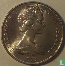 Cookeilanden 20 cents 1973