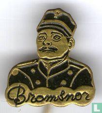Bromsnor [zwart]